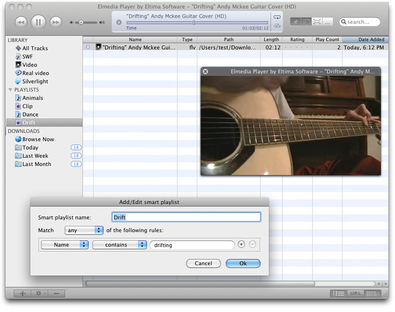 Elmedia Player PRO for Mac Screenshot