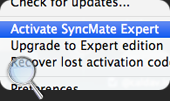 Mac MTP synchronization