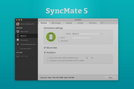 Check out SyncMate video review