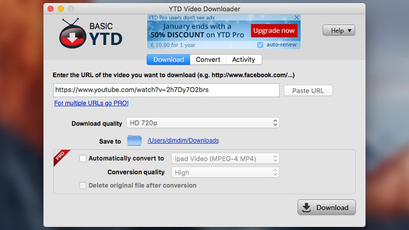 best free youtube downloader for mac