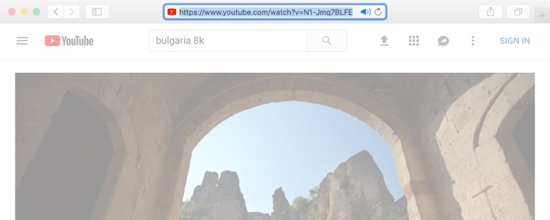 Save a youtube video to mac with Airy
