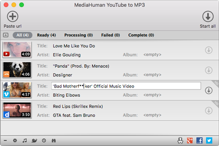YouTube to MP3 Converter on Mac