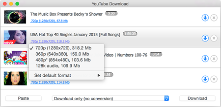 The list of best YouTube to MP3 Converters for Mac