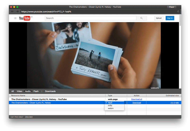 Elmedia Player como alternativa a Ummy
