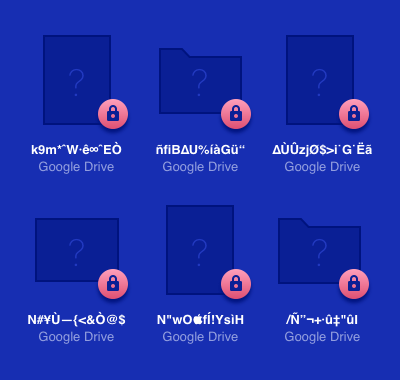 Google Drive encryption
