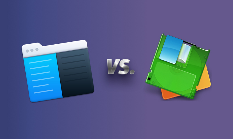 Disk Order file manager in comparison with Commander One