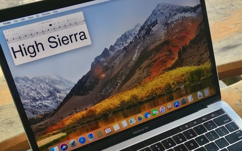 High Sierra screen