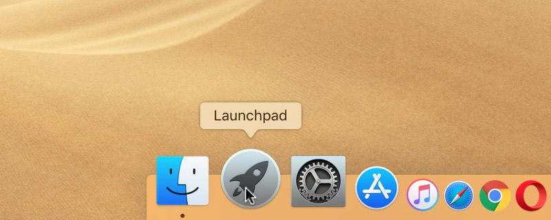 How to uninstall a program on Mac in Launchpad