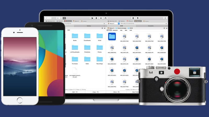 how to transfer photos from mac to iphone