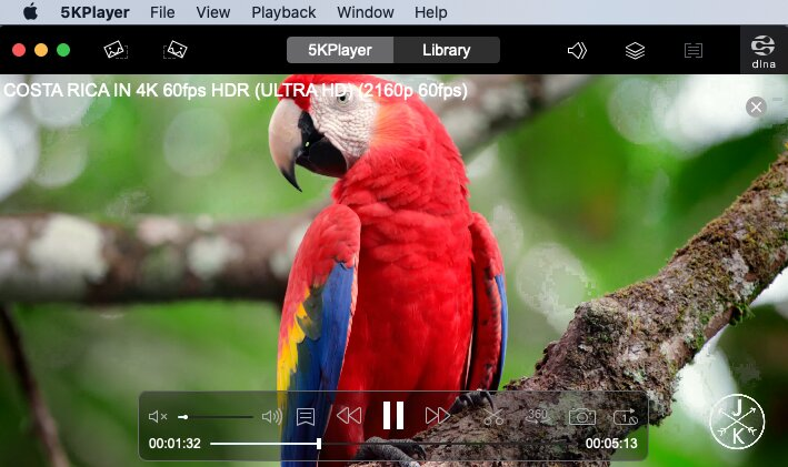 4K video player for Mac - 5KPlayer