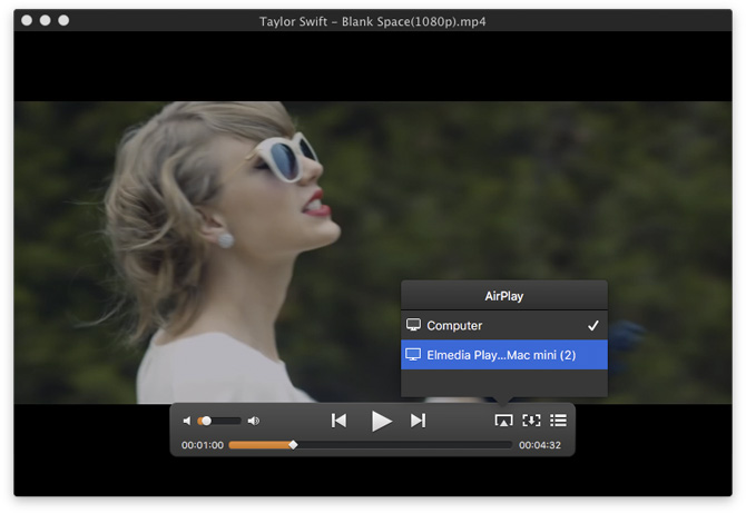 Ace player support airplay apple