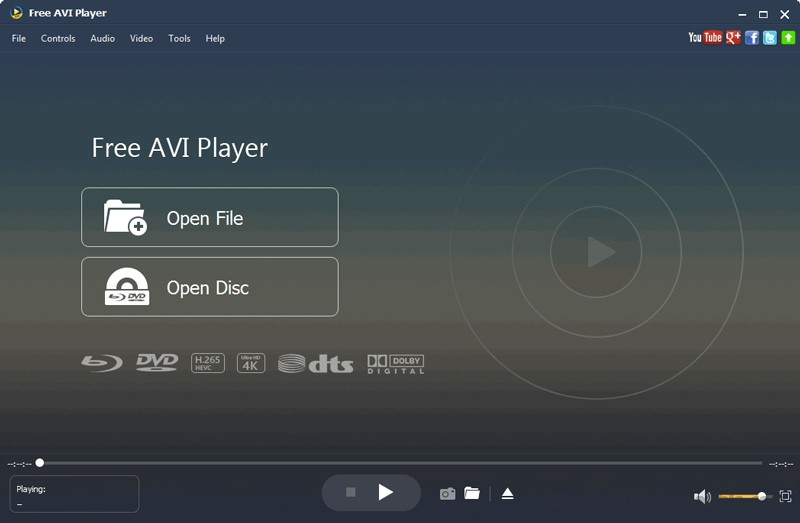 Free AVI Player for Mac