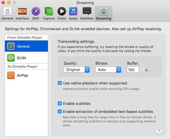 Stream from Mac to TV with Elmedia