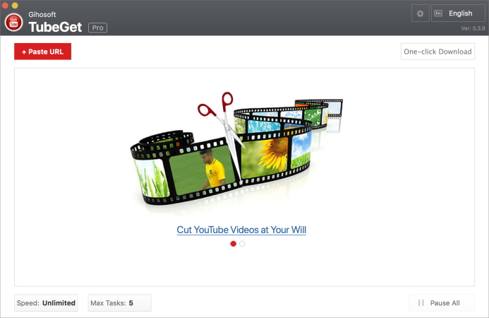 Gihosoft video downloader