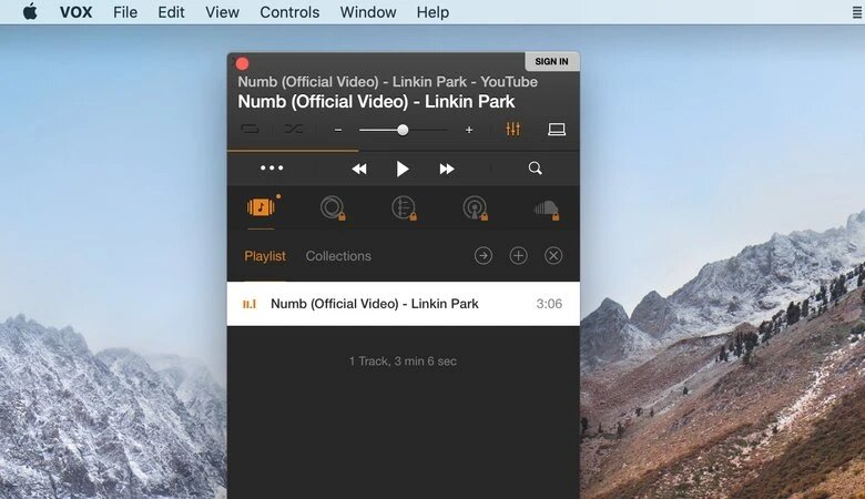 Music player for Mac