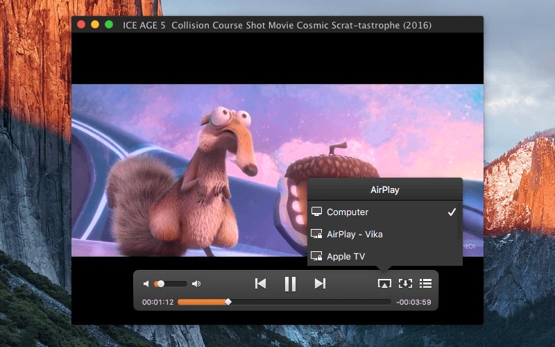 Best vlc alternative for mac elmedia player ios android to mac with elmedia or streaming content from a mac with elmedia to another mac with this player or any other airplay device ccuart Images
