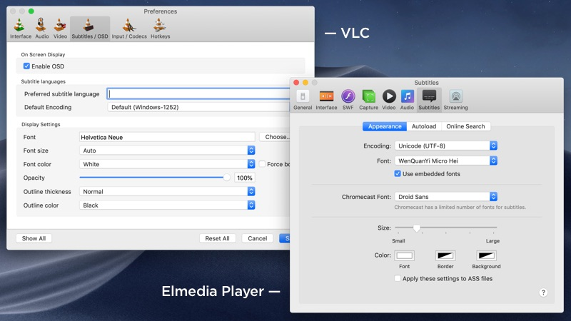 Best VLC Alternative for Mac - Elmedia Player