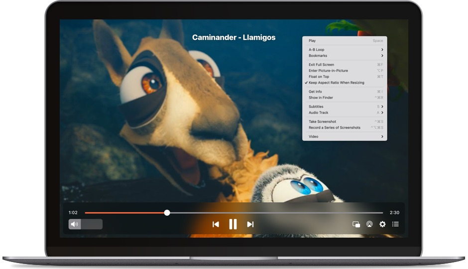 Best media player for Mac: Elmedia Player