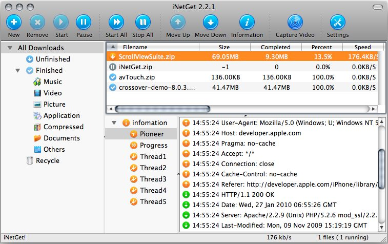 The Best Download managers for Mac OS X
