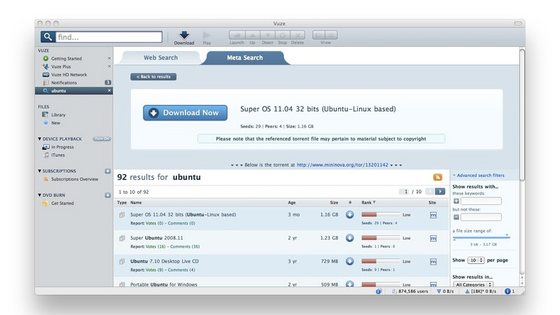 List of the best uTorrent alternatives for Mac