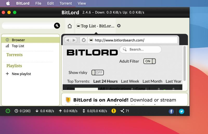 Utorrent Mac Catalina 10.15