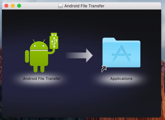 Just follow the steps below to transfer Android photos to Mac.