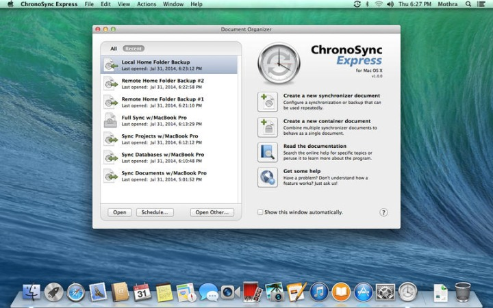 ChronoSync for Mac