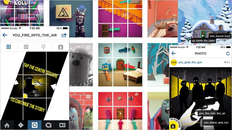 Instagram Interactive Games