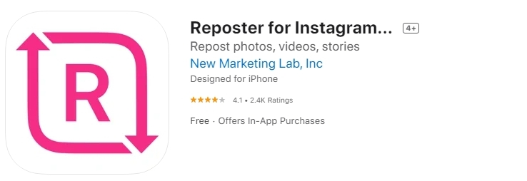 Download a video from Instagram to my iPhone.