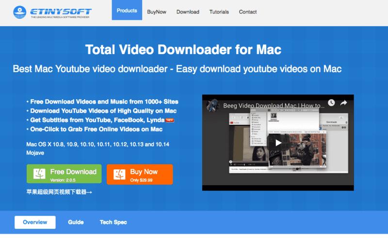 rip adobe flash video mac