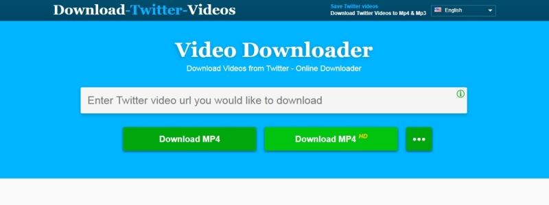 The summary for DownloadTwitterVideo: