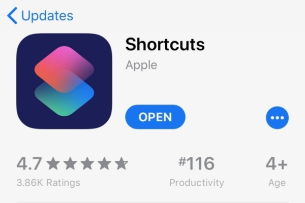 A quick look at Apple's Shortcuts App features: