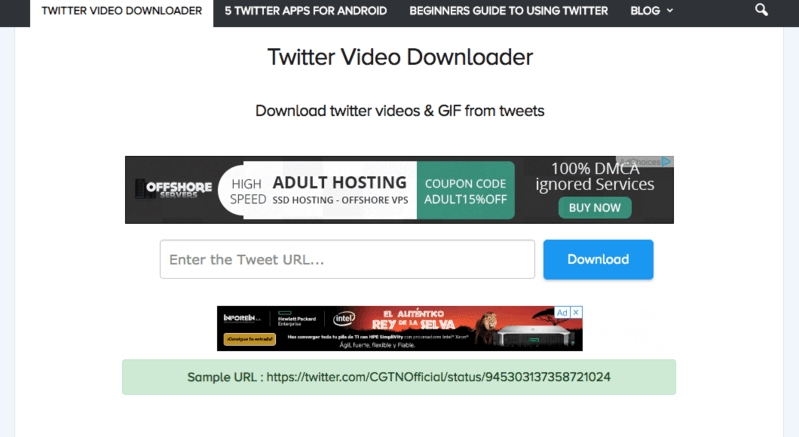 How to download videos from Twitter on Mac?