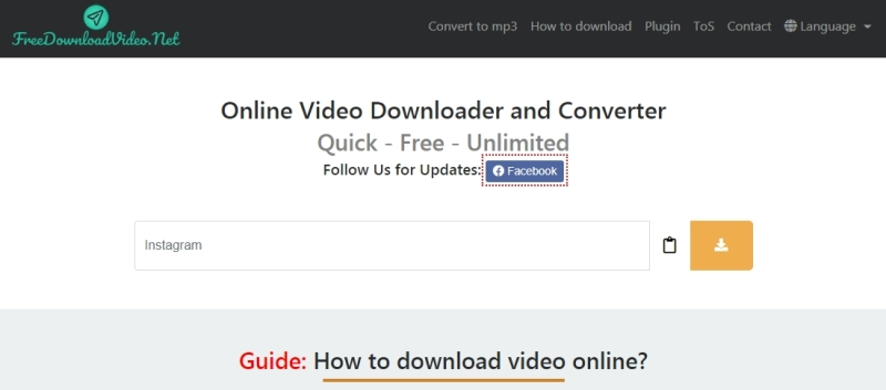 The summary for FreeDownloadVideo: