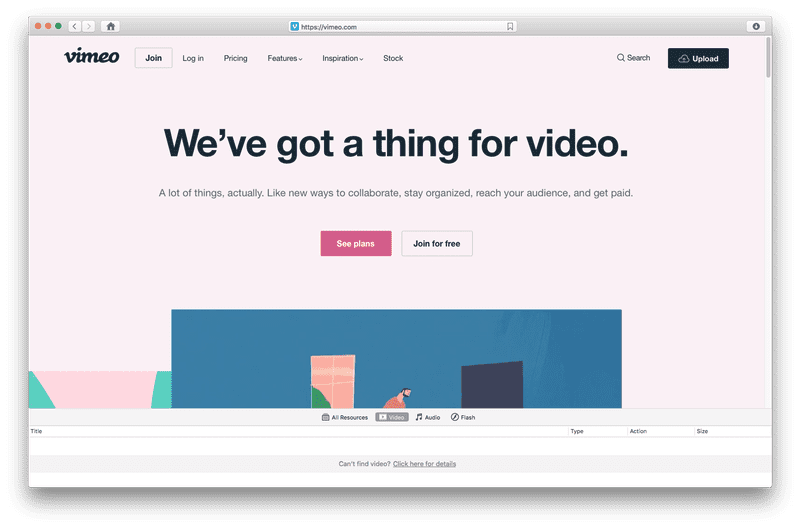 Vimeo video downloader mac