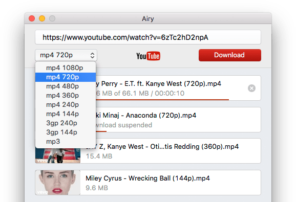 YouTube to mp4 downloader