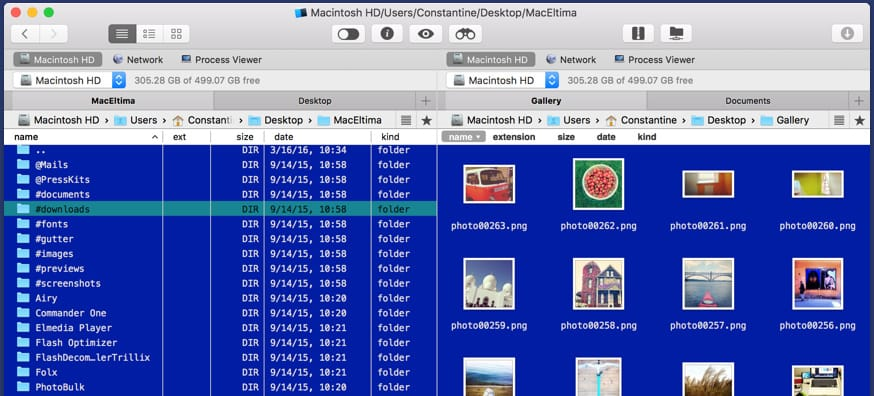 Dual-pane file manager for Mac - Commander One