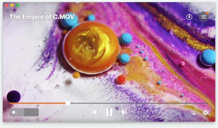 Elmedia 4K player for Mac