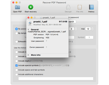 remove pdf password for mac