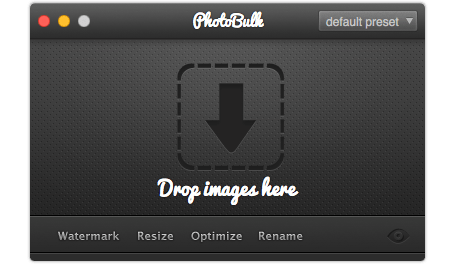 watermark photos on mac