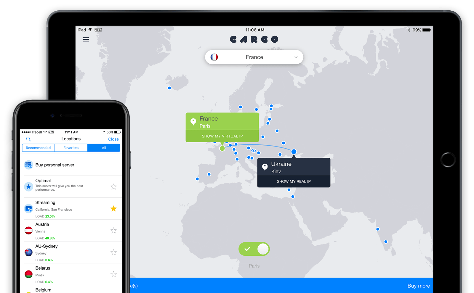 The best VPN for the iPhone or iPad