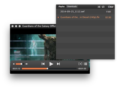 SWF & FLV Player for Mac